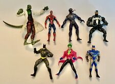 New ListingSpider-Man & Batman Toy Action Figures, Lot of 7, Including Villains