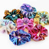 Women Elastic Bronzing Glitter Hair Ties & Bands Ponytail Holder Scrunchies - Y1