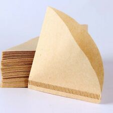 1-2 Cups Coffee Filter Paper Hand-poured Filter Drip Poured Brewer Maker Useful