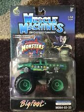 2003 BIGFOOT Carded Muscle Machines Monster Truck MOC 1/64 Universal M064-03-33