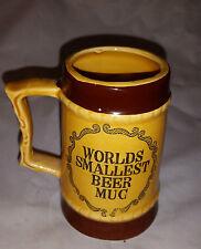 Ceramic Worlds Smallest BeerMini  Mug