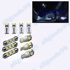 Ford Fiesta MK7 2008- Complete/Full Interior LED Bulb Set/Kit Xenon White colour