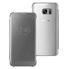 Samsung Custodia originale Clear View Flip Cover a Libro Argento Galaxy S7 G930F