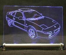 Toyota MR2 W2 LED Leuchtschild Autogravur Leuchtbild