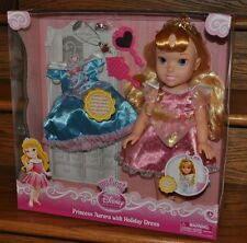 My First Disney Princess 15 in Aurora Doll With Holiday Dress Gift Set NEW