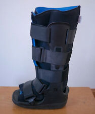 Equalizer Walker Boot Leg Foot Brace X-Small XS Black w/ Soft Liner & Straps