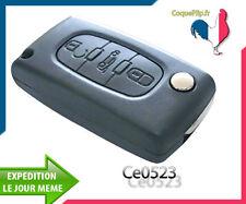 Coque Télécommande Plip Coffre Citroen C1 C2 C3 C4 C5 C6 Ce0523 Cle Sans Rainure