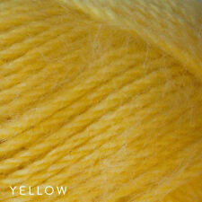 50g Balls - Cleckheaton Wool Mohair 12ply - Yellow Colour #0002 - 6.00 A Steal
