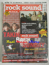 rivista ROCK SOUND 77/2004 + CD Taking Back Sunday + POSTER Papa Roach Interpol