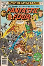 Fantastic Four #185 (Aug 1977, Marvel) Good/VG