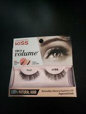 1 Pack Kiss True Volume Lash 100% Natural Hair 62582 Ktvl01