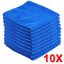 10X Universal Cleaning Auto Car Detailing Soft Cloths Wash Towel Duster 20*20cm