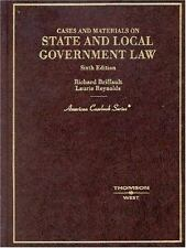 American Casebook: State and Local Government Law : Cases and Materials by Richa
