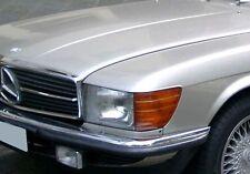 Original Mercedes-Benz w107 sl SLC zierstab izquierda barra de cromo calandra Top
