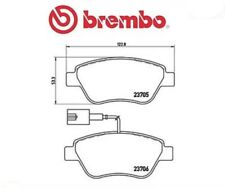P23141 Kit pastiglie freno, Freno a disco (MARCA-BREMBO)