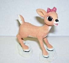 Rudolph's Female Doe Deer Friend Clarice Figurine 2001