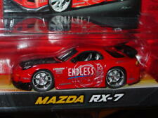 JADA 2004 IMPORT RACER MAZDA RX-7 COLLECTIBLE Red w/Graffics, MIP