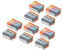 50 PK INK PGI-220 CLI-221 XL NON-OEM FOR CANON PIXMA IP3600 IP4600 MP620 MP980