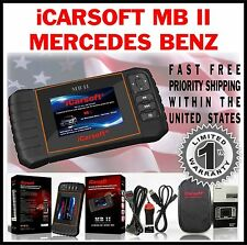 MERCEDES BENZ C series 203 204 OBD2 SCANNER CLEAR ERASE ERROR CODE MB II