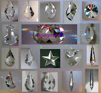 Sun Catcher Hanging Crystal Feng Shui Rainbow Prism Mobile & Wind chime Beads