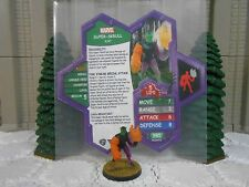 Heroscape Custom Super-Skrull Kl'rt Double Sided Card & Figure w/ Sleeve Marvel