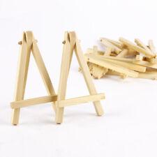 "10x Mini Wooden Display Easel 3"" x 5"" Art Alternatives Table Top Display Craft"