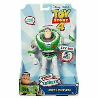 Mattel Disney Pixar Toy Story 4 True Talkers Buzz Lightyear Figure - GDP84