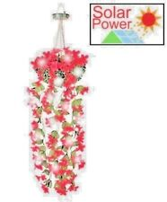 """""""Solar Hanging Flower Lights"""" A Must Have For Hanging Baskets Lovers Great Item."""