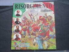album figurine panini risorgimento italiano vuoto ottimo edicola originale 1974