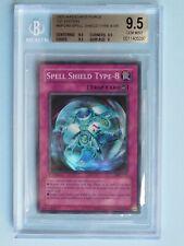 Yugioh- Spell Shield Type-8 MFC-043 -1st Edition- Gem Mint Super Rare