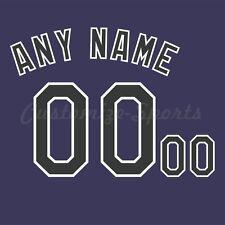 Béisbol Colorado Rockies púrpura Jersey número Personalizado Kit sin costura