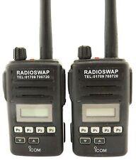 Icom Portable/Handheld Commercial Radios
