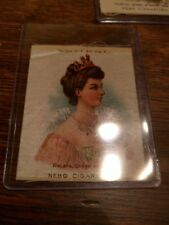 1905-1915 Nebo Cigarettes Silk Helena Queen Of Italy