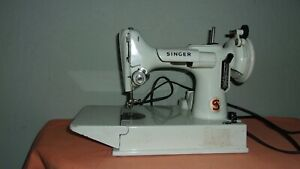 Singer Featherweight white, PARTS ONLY