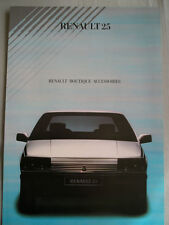 Renault 21 Folleto De Accesorios Boutique c1988