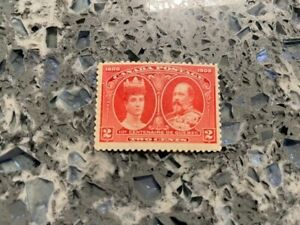 From 1908 #98 King Edward and Queen Alexandra MNH CV $195 Super clean and bright