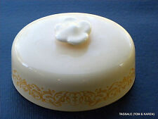 GINGERSNAP by FRANCISCAN ~ COVER FOR BUTTER DISH ..............................&