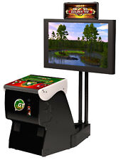 2018 Golden Tee Golf Home Arcade Game With Monitor Stand