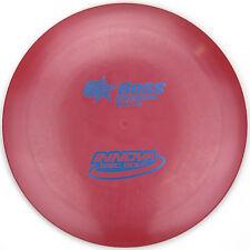 NEW Red G-STAR BOSS Gummy Distance Driver 172g Innova Disc Golf gstar Blue Foil