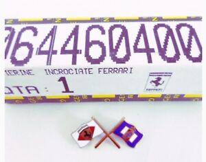 GENUINE Ferrari 355 360 430 Pininfarina Small Flags  #64460400