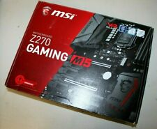 MSI Z270 GAMING M5 ATX Motherboard Intel LGA 1151 Socket (Great Condition)