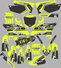 Vibrant Highlighter YAMAHA UFO RESTYLED GRAPHICS  YZ 250 YZ250 2002-2014 Blue