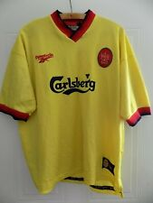 RARE 1997 Reebok Liverpool FC Away Top Retro Jersey Football Shirt Mens Adults