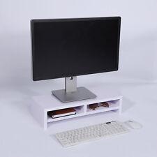 Computer Monitor Riser Laptop Screen TV/Imac Desktop Stand Storage Table Shelf