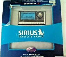 Sirius Satellite Radio Sportster 4 Never Used Open box complete Great Condition