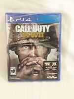 Call of Duty WWII Sony PS4 PlayStation 4 ***New Sealed*** COD World War II Game