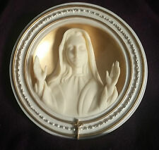 Bradford Exchange Mary Queen Of Heaven Plate Second Issue Mother Of Faith