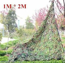 1m×2m New Camouflage Camo Net Netting Cover Blinds Jungle Military Tarp fu