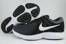 on sale 7efb1 a7882 Nike Revolution 4 4e Mens Black White Athletic Running Shoes 8  Black white-anthracite