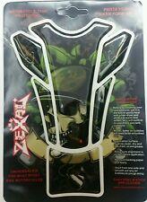 Skull Motorcycle Bike Tank Pad Protector Street fighter Cafe Racer Honda Yamaha